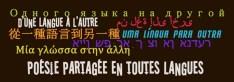Poésie partagée en toutes langues
